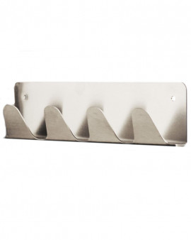 Stainless Steel Wall Mounted Coat Hook Rack