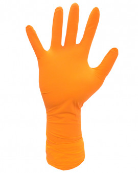 Shieldskin Orange Nitrile 300 Non Sterile