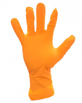 Shieldskin Orange Nitrile 300 Sterile