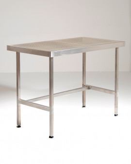 Stainless Steel Perforated Table (No Upstand & No Under Shelf)