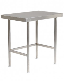 Stainless Steel Table / Bench (No Upstand & No Under Shelf)