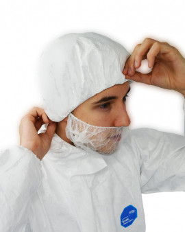 DuPont™Tyvek® IsoClean® Bouffant Hat - Sterile- 250 case