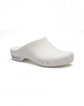 SteriKlog™ ToffelnClean Clog White - No Heelstrap
