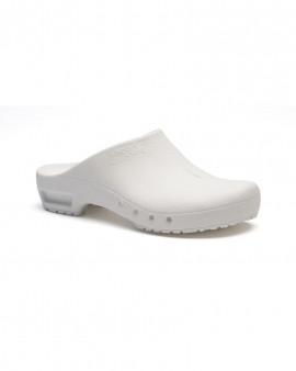 SteriKlog™ ToffelnClean Clog White - No Heelstrap