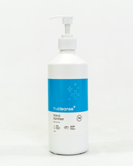 TruCleanse Hand Sanitiser 500ml pump - Case of 10