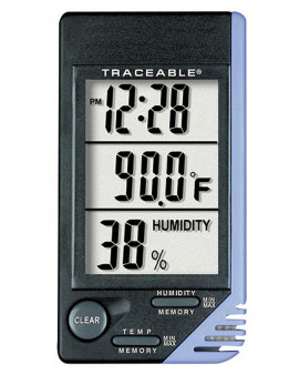 Temperature and Humidity Clock