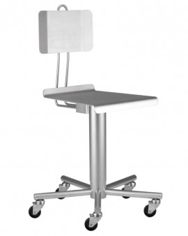 Stainless Steel Chair with Backrest