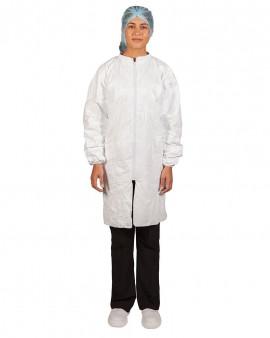Tyvek® Lab Coat (Elastic Cuff)
