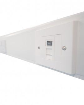 Trunking kits for modular cleanroom range