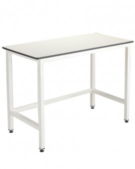 Trespa Toplab Table (No Upstand and No Undershelf)
