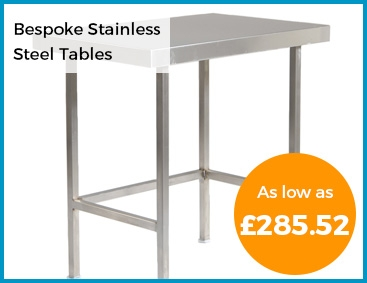 Bespoke Stainless Steel Tables