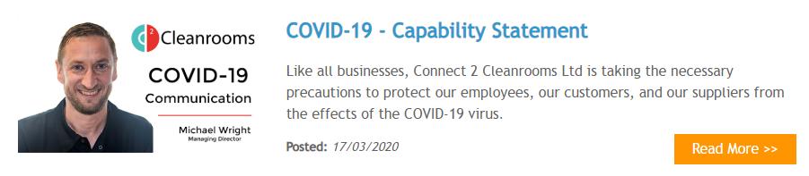 COVID-19 Capability Statement