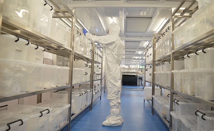 Custom Cleanroom Furniture Fit-out