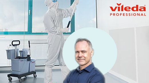 Vileda Professional Cleanroom Mopping Systems
